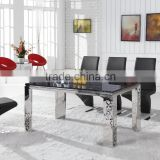 marble top dinning tables metal table legs for dining room furniture                                                                         Quality Choice
