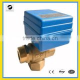 CWX-10 3 way motor control valve DC9V-24V 15mm 20mm for electric control water treatment
