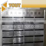 Customized 201 304 Stainless Steel Mailbox