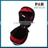 tapered shape for high storage capacity bicycle bag for saddle