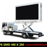 helilai 3G wireless control taxi/car/cab/truck roof top advertising led display/led sign made by