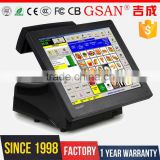 GS-3025 GSAN 15 inch touch screen pos system cash register                                                                         Quality Choice                                                     Most Popular
