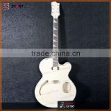 Professional Manufacture Cheap Unfinished Hollow Body Guitar Kit