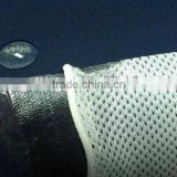 polyester spandex fabric bonding with mesh fabric