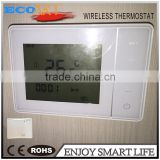 Wireless Programmable thermostat for Electric Heating/Water/Boiler