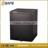 Wholesale quality domestic hotel mini bar refrigerator with door lock