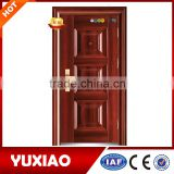 Competitive price wrought iron front doors with top quality