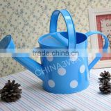 1.7l unique metal giant green color flower green old fashioned watering can gardening tools