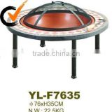 Design customized bbq fire pit table [ high-end environmentally friendly and durable fire coffee table]