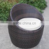 Rattan wicker Salon chair antique/ modern/fashion style salon chair