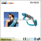 Hot Foldable Fitness Flexible Spring Hula Hoop 10 Pieces