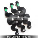 2014 6A hair weave 100% 6a indian remy hair ,no tangle no shed e wavy indian hair Body Wave