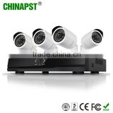 Camera Security System 2MP Bullet IP Camera Video 16ch PoE NVR Recorder System Kit 4CH PoE NVR PST-IPK04CL