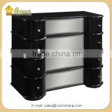 French Style Commode Mirrored Chest of Drawers for Home Furniture