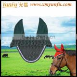 Exquisite Bling Crochet Horse Grand Prix Ear Net
