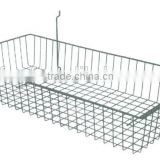 Metal wire storage basket for kitchen dishwasher G43