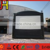 Inflatable movie screen for sale, outdoor inflatable projector screen, giant movie screen for events