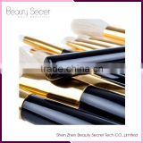 Wholesale 10 sets/Lot 12 pcs Makeup Brush Sets Pro Cosmetics Brushes Eyebrow Eye Brow Powder Lipsticks Shadows Make Up Tool Kit