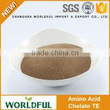 100% Water Soluble Animal Source Agriculture Amino Acid Powder Chelate with Trace Element Amino Acid Fertilizer