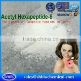 Cosmetic Argireline powder anti-wrinkle cream, acetyl hexapeptice-3