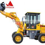 Chinese farm tractor machine radlader with ce, industrial equipment 1.0 ton hoflader for sale
