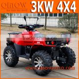 Electric 3KW 4x4 ATV For Adults
