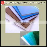 Decorative bathroom door material colored polycarbonate sheet PC solid sheet,polycarbonate/ pc embossed sheet
