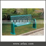 Arlau China Outdoor Garden Furniture,Outdoor Wooden Bench With Metal Legs,Cast Iron Park Bench Legs