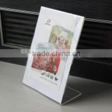 "8.5x11"" Acrylic sign holder, a4 acrylic sign holder"