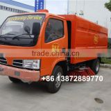4*2 dongfeng diesel outdoor hydraulic broom road sweeper malaysia