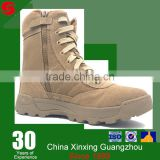 fabric and leather cover can add steel toe military boots wholesale