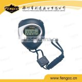 Small Black and Silver Color Sports Digital Timer With Cord
