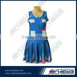 sublimation printing full tennis dress Netball dress