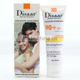 Protection solaire haute anti sunscreen lotion