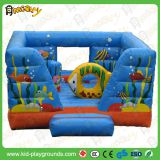 inflatable bouncer play area /inflatable colorful bouncer house