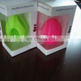 Loud Speaker/silicone speaker for phone