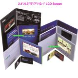 Customized Your Own Lcd Video Greeting Card 2.4/2.8/ 4.3/ 5/ 7/ 10 Screen with CE/ROHS/ISO9001