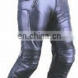 (Supper Deal) New Style Genuine Leather Motor Bike Pant,Leather Racing Trousers,Motor Cycle Leather Pant