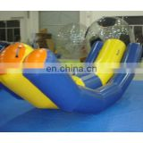 inflatable water totter,inflatable teeter totter, inflatable aqua game, inflatable totter water game, water amusement park