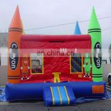 inflatable crayon bouncy house / inflatable bounce house crayon / inflatable crayon bouncer jumping