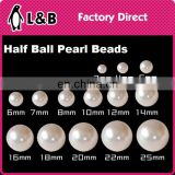 jewelry accessories wholesale 2017 hole loose ABS plastic pearl beads