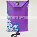 Decorative Green Reusable PE Shopping bags,folding shopping bags