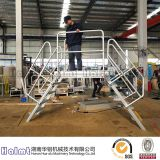 Industrial Aluminium Bridging Step Ladders