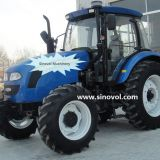 Top quality four wheel tractor 120hp-150hp with YTO or Weichai engine