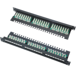 FTP 24 PORTS PATCH PANEL with LED