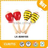 10 best small business educational wooden baby toys factory sand hammer maracas
