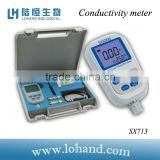 wholesale Portable electrical conductivity apparatus Conductivity meter SX713 in low price