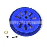 RC helicopters quadcopter plastic gear wheel crankset blue TL45156