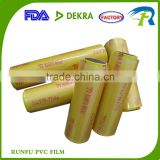 Five-star Transparent PVC Stretch Film, Vacuum Wrapping Film