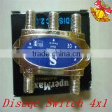 4x1 Diseqc Switch, 4 in 1 Diseqc Switch, Diseqc 4x1 Switch                                                                         Quality Choice